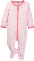 Absorba Pink Daisy Footie (Baby Girls)