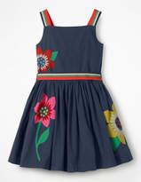 Boden Bright Applique Dress