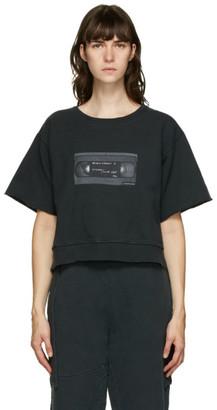 MM6 MAISON MARGIELA Black Graphic Sweatshirt
