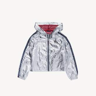 Tommy Hilfiger TH Kids Metallic Hooded Jacket