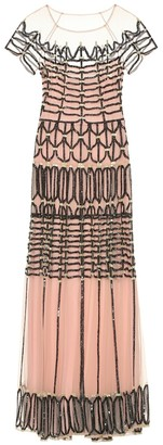 Temperley London Clio embellished tulle dress