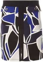Dorothy Perkins Blue And Black A-Line Skirt