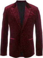 Roberto Cavalli animal pattern blazer
