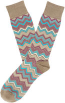 Perry Ellis Herringbone Chevron Sock