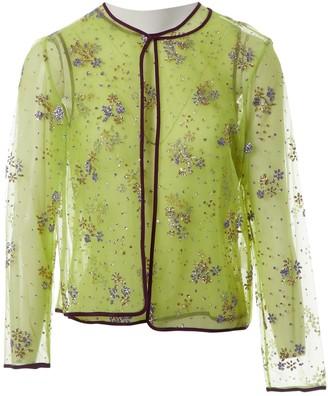 Mary Katrantzou Green Polyester Tops