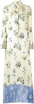 Dondup floral print maxi dress - women - Silk - 44