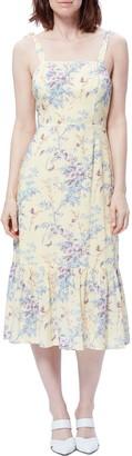 Paige Tolucah Floral Midi Sun Dress