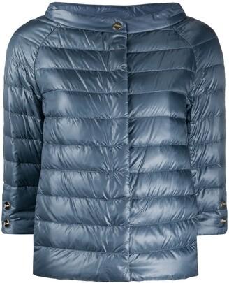 Herno High-Shine Half-Length Sleeved Jacket