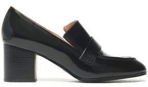 Jil Sander Navy Glossed-leather Loafers
