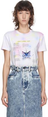 Miu Miu Multicolor Eri Wakiyama Edition Unicorn Cat T-Shirt