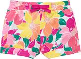 Gymboree Fuchsia Floral Knit Shorts - Infant Toddler & Girls