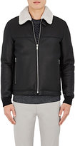 Theory Men's Dobbis. Essence Leather Jacket