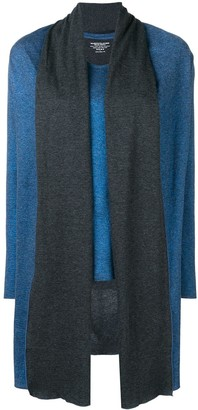 Majestic Filatures layered shawl top