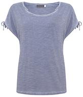 Mint Velvet Tie Sleeve T-Shirt