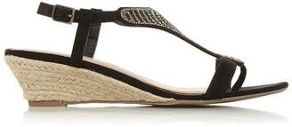 Head Over Heels Nickolas Low Wedge Heel Sandals
