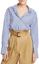 Max Mara Aldo Striped Shirt - 100% Bloomingdale's Exclusive