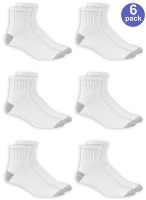 Athletic Works Men's Ankle Socks 6-Pack