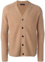 Joseph ribbed button down cardigan