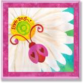 Stupell Industries The Kids Room Love Bug Lady Bug Wall Plaque