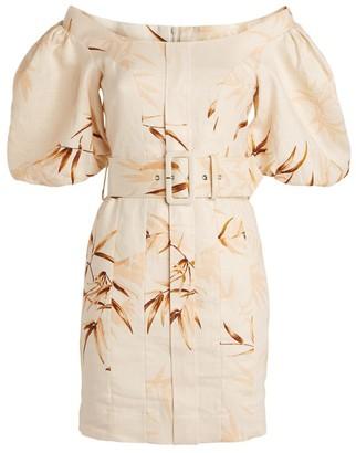 Shona Joy Sundance Off-The-Shoulder Mini Dress