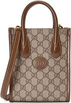 Thumbnail for your product : Gucci Mini tote bag with Interlocking G