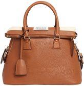 Maison Margiela Medium 5ac Tumbled Leather Bag