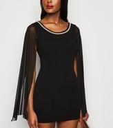 New Look Missfiga Faux Pearl Bodycon Dress