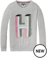 Tommy Hilfiger Girls Logo Sweatshirt