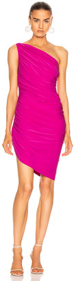 Norma Kamali for FWRD Diana Mini Dress in Fuchsia | FWRD
