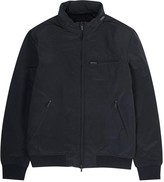 Armani Jeans Navy Padded Brushed Shell Jacket