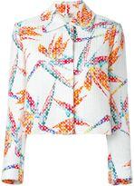 Fendi Bird of Paradise print jacket - women - Silk/Cotton/Polyamide/Polyester - 40