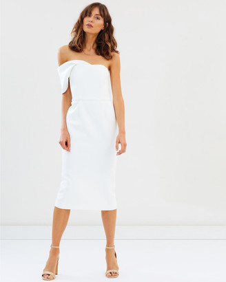 Friend Of Audrey James Harriet One Shoulder Dress