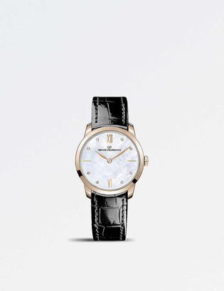 Girard Perregaux 4952852771CK6A Classique rose-gold and mother-of-pearl automatic watch