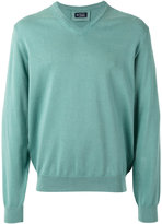 Hackett v-neck jumper - men - Cotton - XL