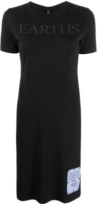 McQ Earths T-shirt mini dress