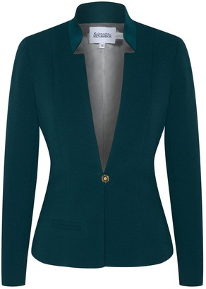 Menashion Blazer No. 500 Slim Fit Green