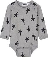 Molo Star printed cotton babygrow 3-12 months