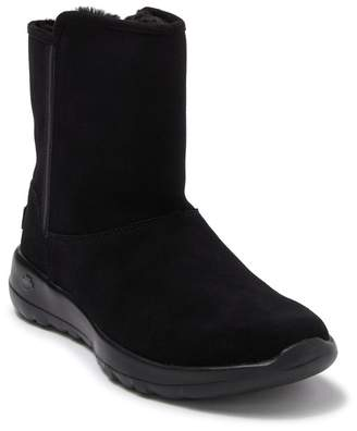 Skechers On The GO Joy Faux Fur Lined Cadet Boot
