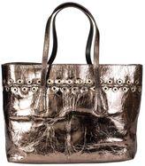 Sonia Rykiel Laminated Leather Shopping Bag