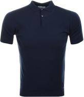 John Smedley Payton Polo T Shirt Blue