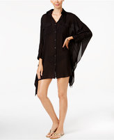 Lauren Ralph Lauren Three-Quarter Sleeve Cover-Up