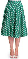 Hell Bunny Polka-Dot Circle Skirt