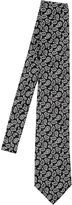 Etro 8cm Outlined Paisley Silk Satin Tie