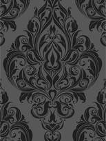 Graham & Brown Laurence Llewelyn-Bowen Kinky Vintage Naughty Noir Flock Wallpaper