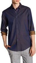 Vince Camuto Slim Fit Print Sport Shirt