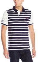 U.S. Polo Assn. Men's Striped Jersey Polo Shirt