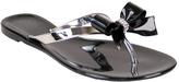 NOMAD Women's Pixie Metallic Bow Thong Sandal