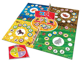 University Games Eric Carle Around the Farm Board Game