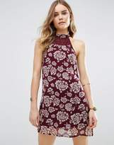 Band of Gypsies Vintage Style Floral Festival Shift Dress
