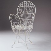 The Well Appointed House Victorian Wire Chair-Available in a Variety of Finishes